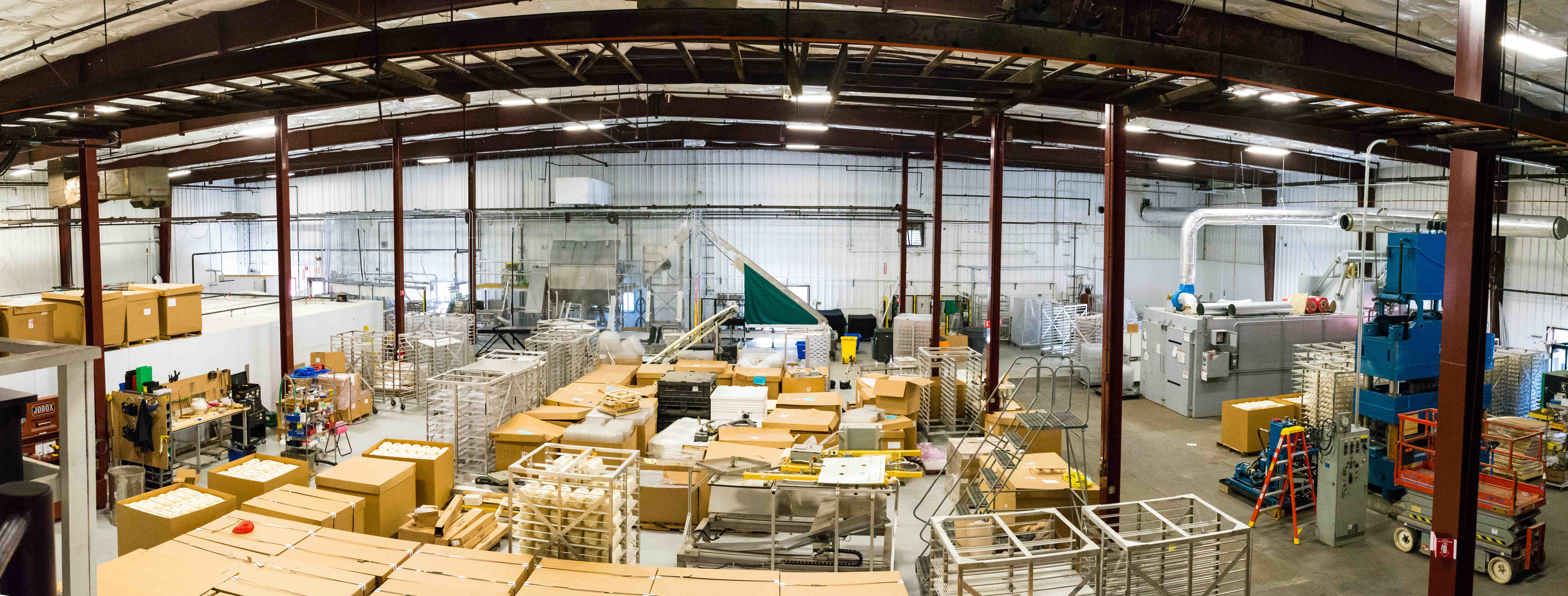 Inside Our Troy Facility Mycelium Biofabrication